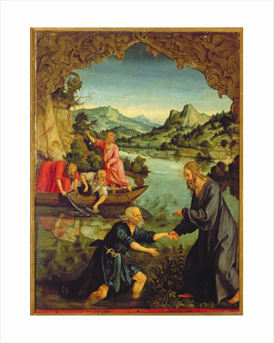 Calling of St. Peter by Hans Suess Kulmbach