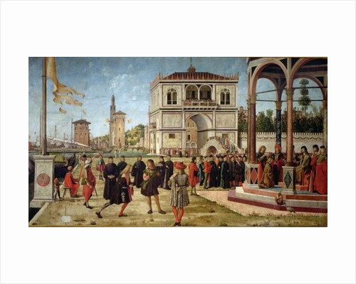 The Story of St. Ursula, the Repatriation of the English Ambassadors by Vittore Carpaccio