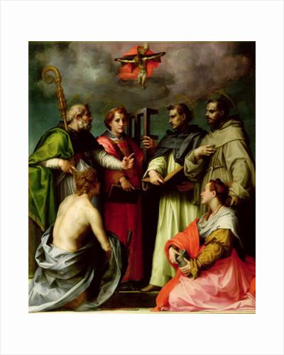 Disputation on the Trinity by Andrea del Sarto