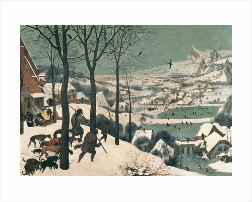 Hunters in the Snow - January by Pieter Bruegel the Elder