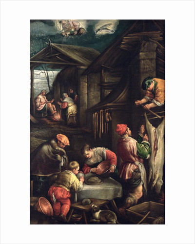 Winter (The Butcher) by Francesco Bassano