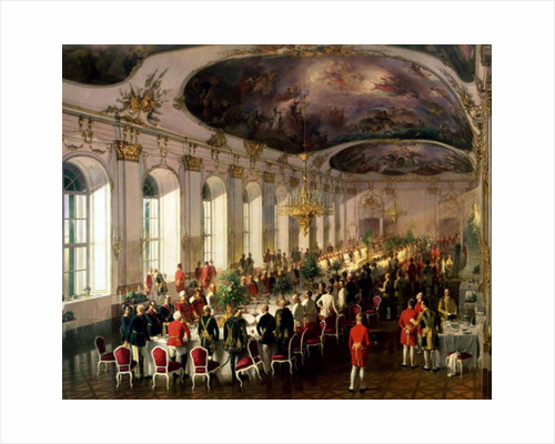 Celebration on the occasion of the anniversary of the Military Order of Maria Theresa by Siegmund L'Allemand
