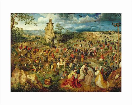 Christ carrying the Cross by Pieter Bruegel the Elder
