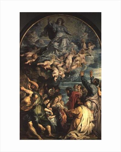 The Assumption of the Virgin Altarpiece by Peter Paul Rubens