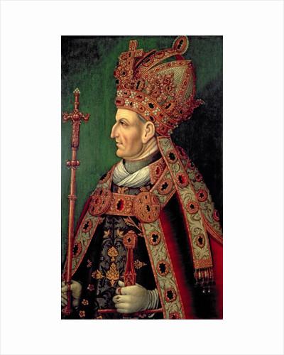 Frederick III of Germany Holy Roman Emperor, 5th Duke of Austria, father of Emperor Maximilian I by German School
