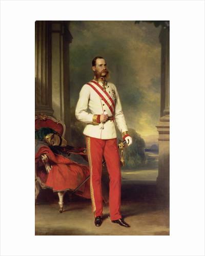 Franz Joseph I, Emperor of Austria by Franz Xaver Winterhalter