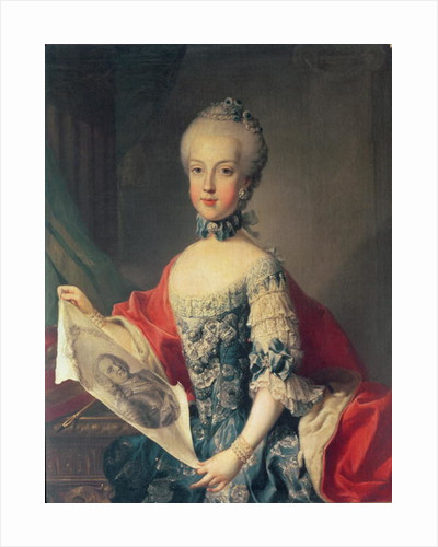 Archduchess Maria Carolina by Martin II Mytens or Meytens