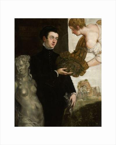 Ottavio Strada, designer of jewellery, miniaturist and archaeologist, son of Jacopo Strada by Jacopo Robusti Tintoretto