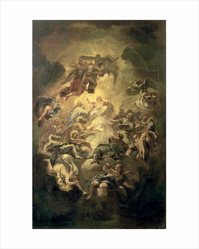 Christ in Glory by Luca Giordano