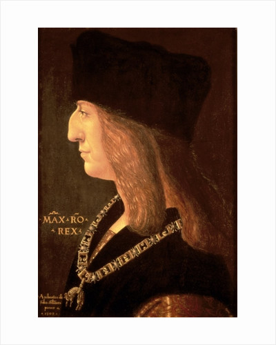 Emperor Maximilian I of Germany by Giovanni Ambrogio de Predis
