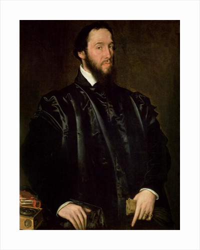 Portrait of Anton Perrenot de Granvelle, Minister of State to Charles V and to Philip II of Spain by Sir Anthonis van Dashorst Mor