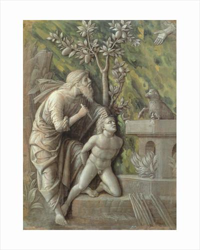 Abraham sacrificing Isaac by Andrea Mantegna