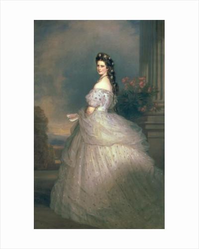 Elizabeth of Bavaria, Empress of Austria, wife of Emperor Franz Joseph of Austria by Franz Xaver Winterhalter