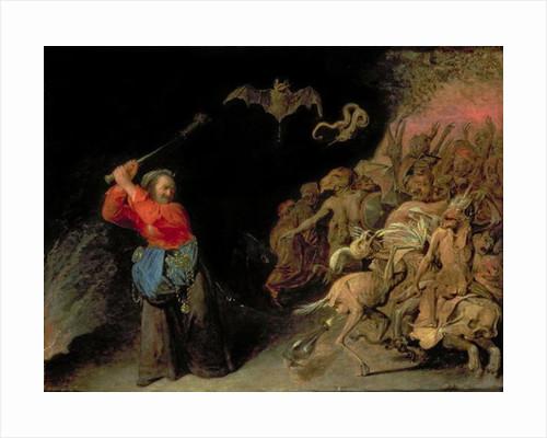 Dulle Griet (Mad Meg) raiding Hell by David III Ryckaert