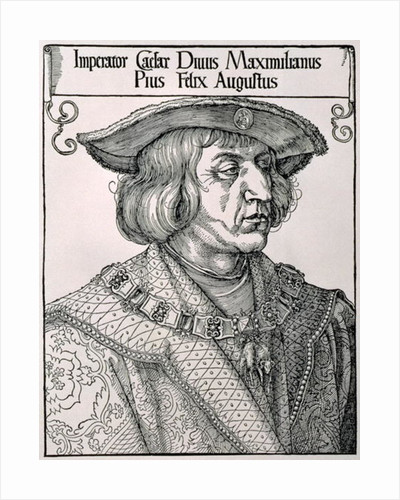 Emperor Maximilian I of Germany, early 16th century by Albrecht Dürer or Duerer