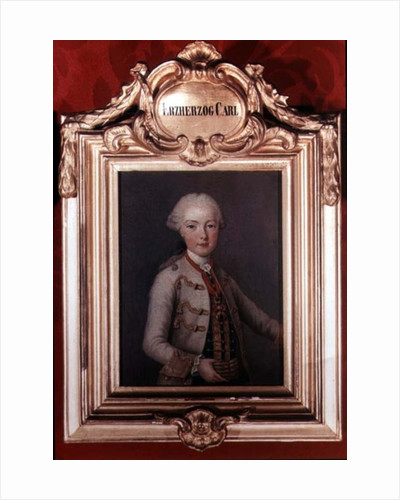 Archduke Karl Joseph son of Emperor Francis I and Empress Maria Theresa of Austria 1762 by Jean-Etienne Liotard