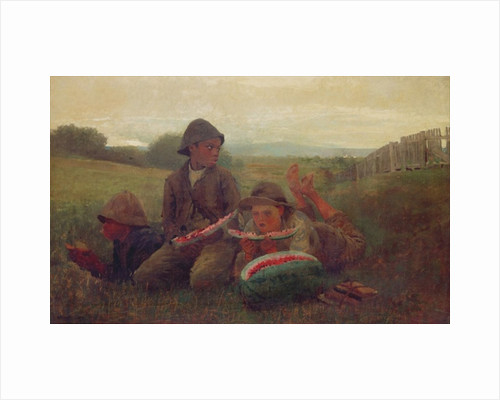 The Watermelon Boys by Winslow Homer