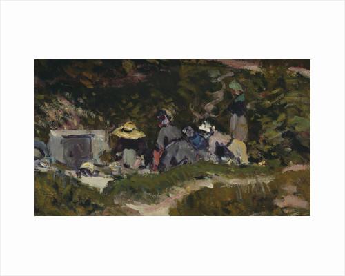Women Laundering by Alfred Sisley