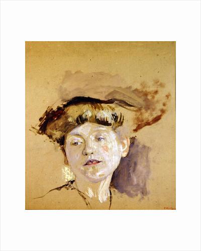 The Blonde Model by Edouard Vuillard