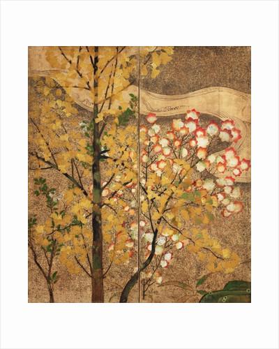 Autumn Tree by Japanese School