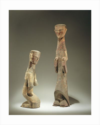 Two statuettes by Chinese School