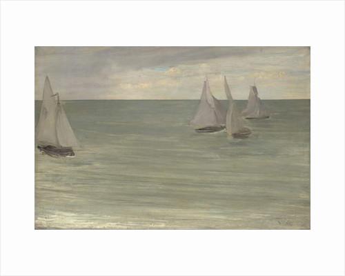 Trouville, 1865 by James Abbott McNeill Whistler