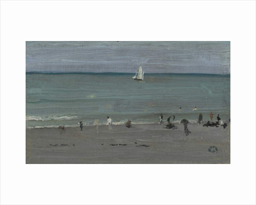 Coast Scene, Bathers, 1884-85 by James Abbott McNeill Whistler