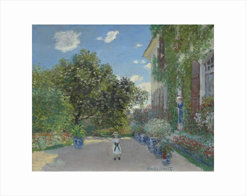 The Artist's House at Argenteuil, 1873 by Claude Monet