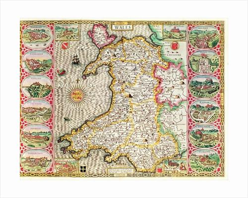 Wales by John Speed