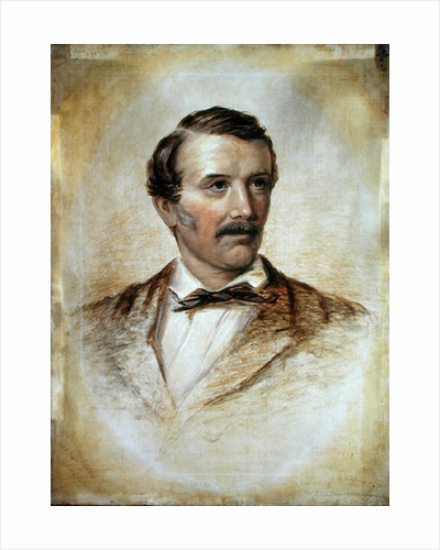 Portrait of Dr David Livingstone by English School