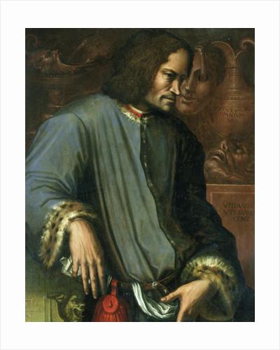 Lorenzo de Medici 'The Magnificent' by Giorgio Vasari
