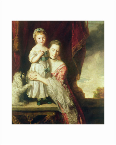 Georgiana, Countess Spencer with Lady Georgiana Spencer by Sir Joshua Reynolds