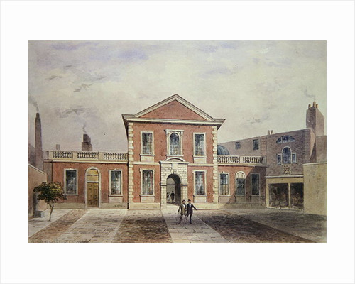 Barber Surgeons Hall by Thomas Hosmer Shepherd