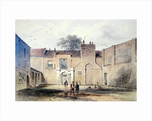 Entrance to Tothill Fields Prison by Thomas Hosmer Shepherd