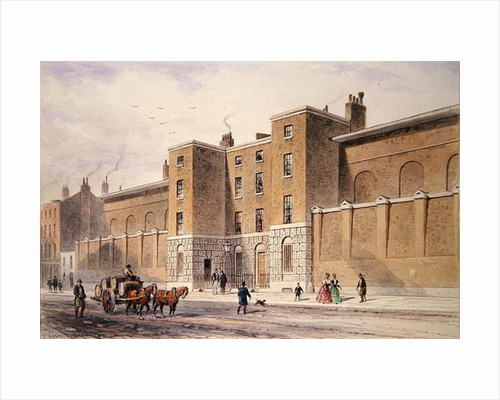 Whitecross Street Prison by Thomas Hosmer Shepherd