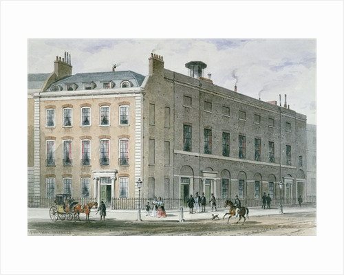 Hanover Square Rooms for Concerts by Thomas Hosmer Shepherd