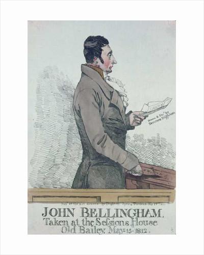 Portrait of John Bellingham by Denis Dighton