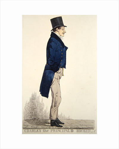 Charley the Principald Broker by Richard Dighton