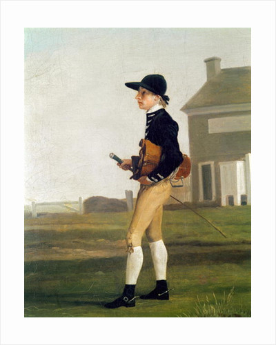 Portrait of a Young Jockey by George Stubbs
