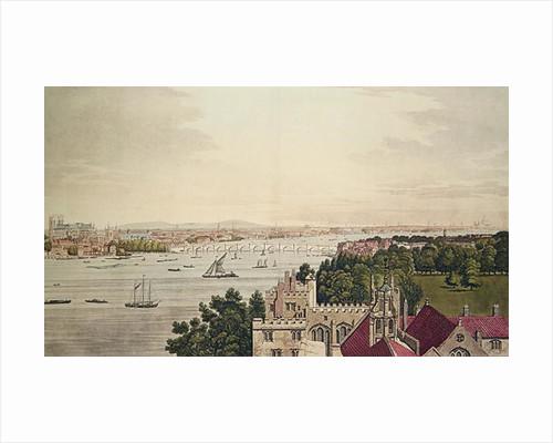 View of London from Lambeth by Joseph Farington