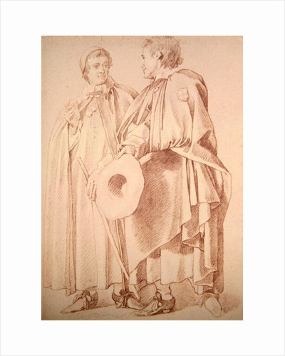 Two Poor Knights of Windsor by Sir Peter Lely