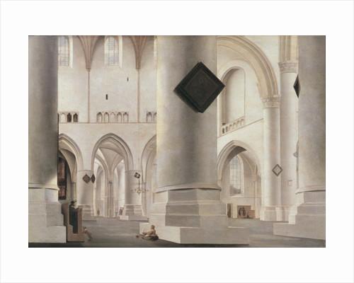 Interior of the Grote Kerk, Amsterdam by Pieter Jansz Saenredam
