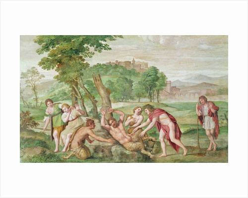 The Flaying of Marsyas by Domenichino