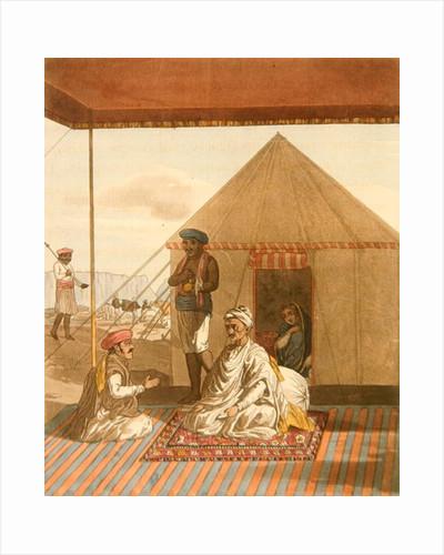 A Mahratta Pandit and his Family by Thomas Baxter