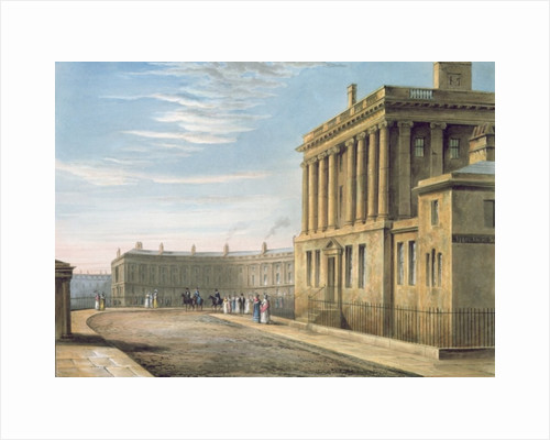 The Royal Crescent by David Cox