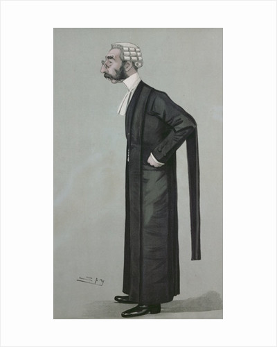 A Sporting Lawyer, form 'Vanity Fair' by Leslie Mathew Ward