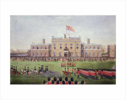 Grand Parade of the Hon Artillery Company by English Photographer