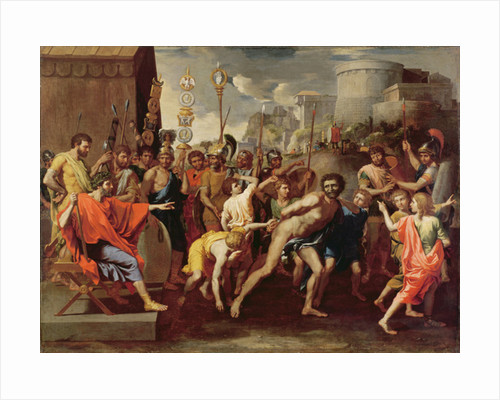 Camillus and the Schoolmaster of Falerii by Nicolas Poussin