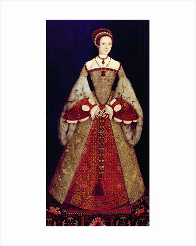 Portrait of Catherine Parr by Master John