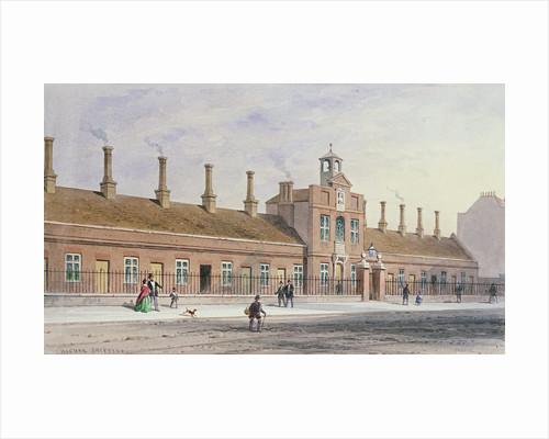 Emery Hills Alms Houses in Rochester Row by Thomas Hosmer Shepherd
